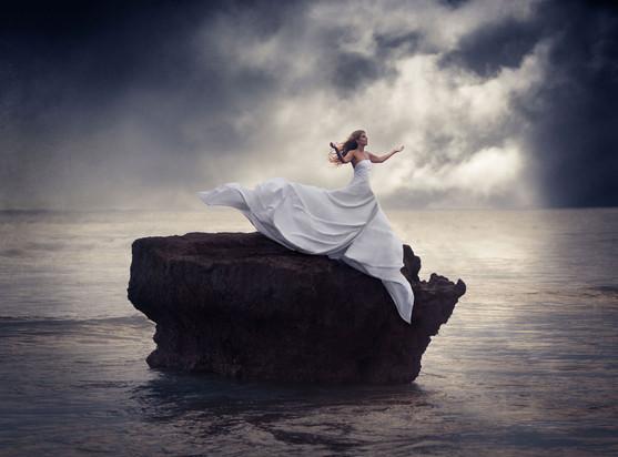 Goddess of the Ocean wind - Artistic Por