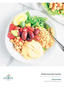 One Life Health Mediterranean Diet - cov