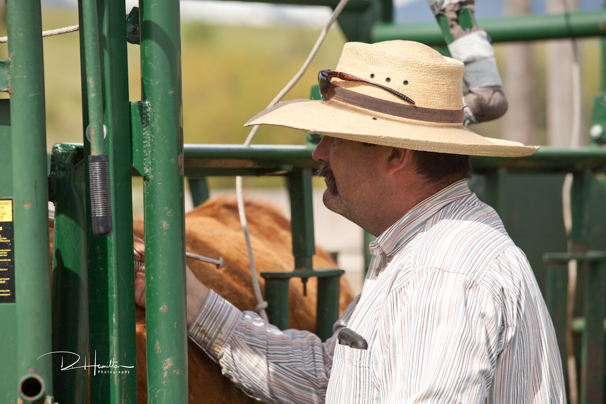 Tim Hamilton, Ranch Manager