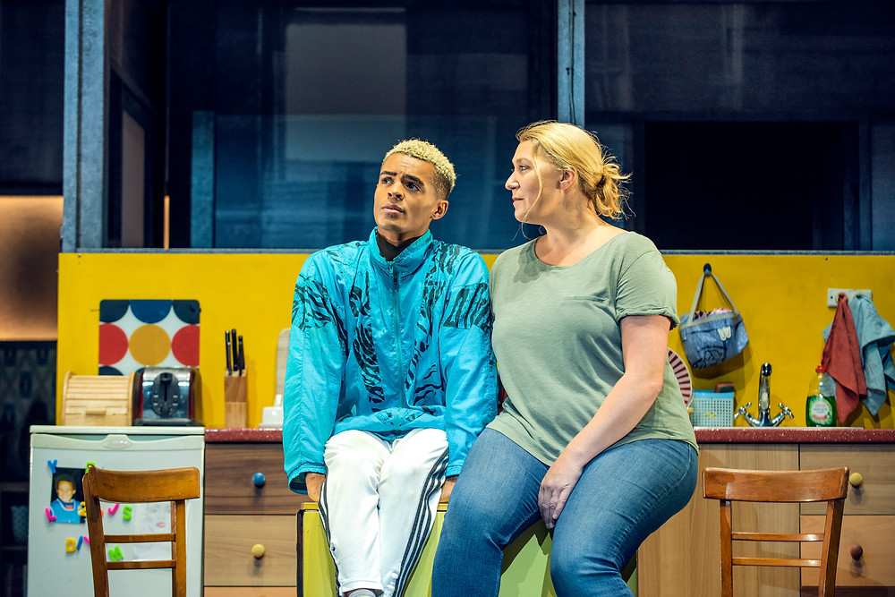 Layton Williams (Jamie) and Melissa Jacques (Margaret) in Everybody's Talking About Jamie. Photo: Matt Crockett