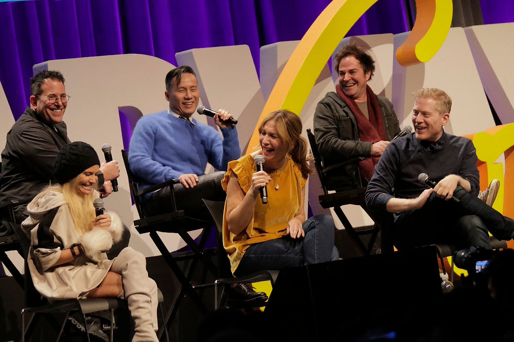 You're a Good Man, Charlie Brown 20th anniversary reunion at BroadwayCon 2019. Photo courtesy of BroadwayCon