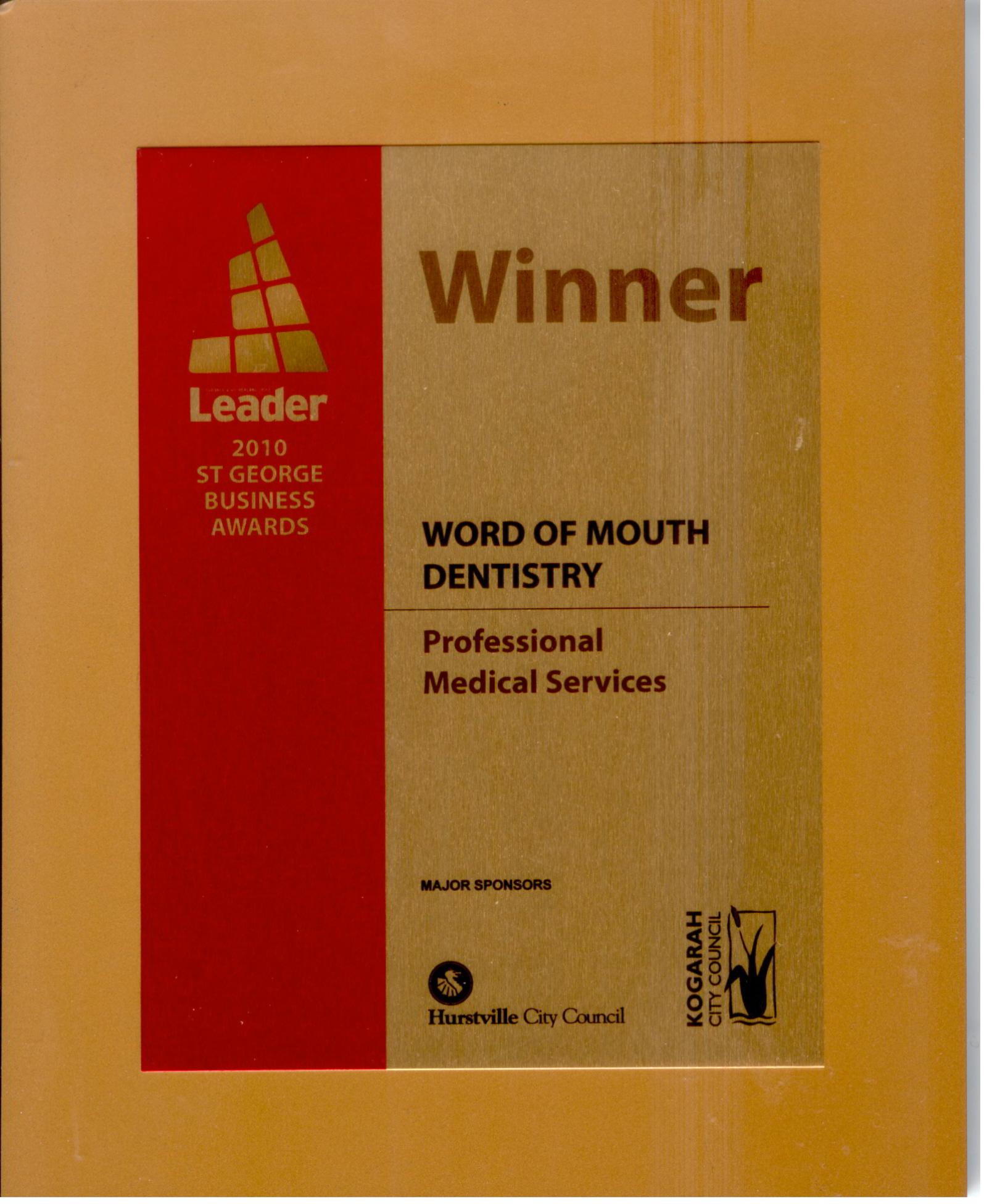 2010 Local Award