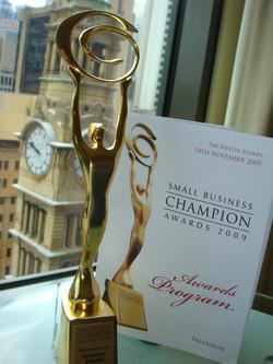Small Business Champion 2009