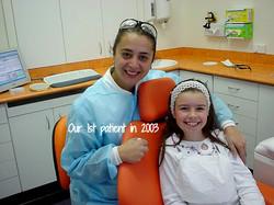 First Dental Patient