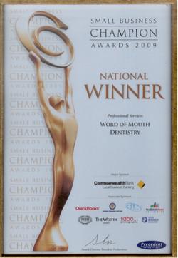 2009 National Award