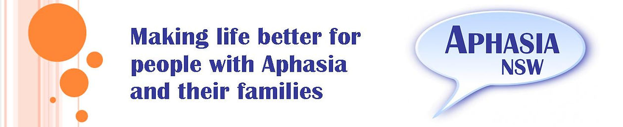 Aphasia NSW - for people with Aphasia