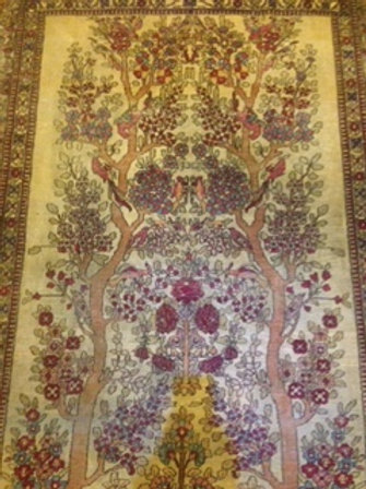 Fine Hand Knotted Antique Rug