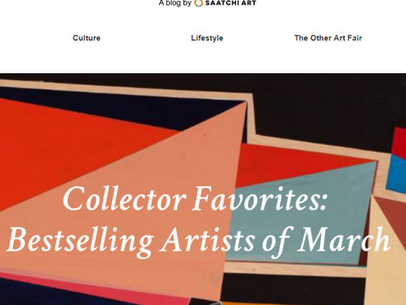 Chosen as one of collectors favorite bestselling artist