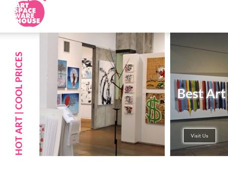 My Artworks in Artspacewarehouse Gallery in Los Angeles