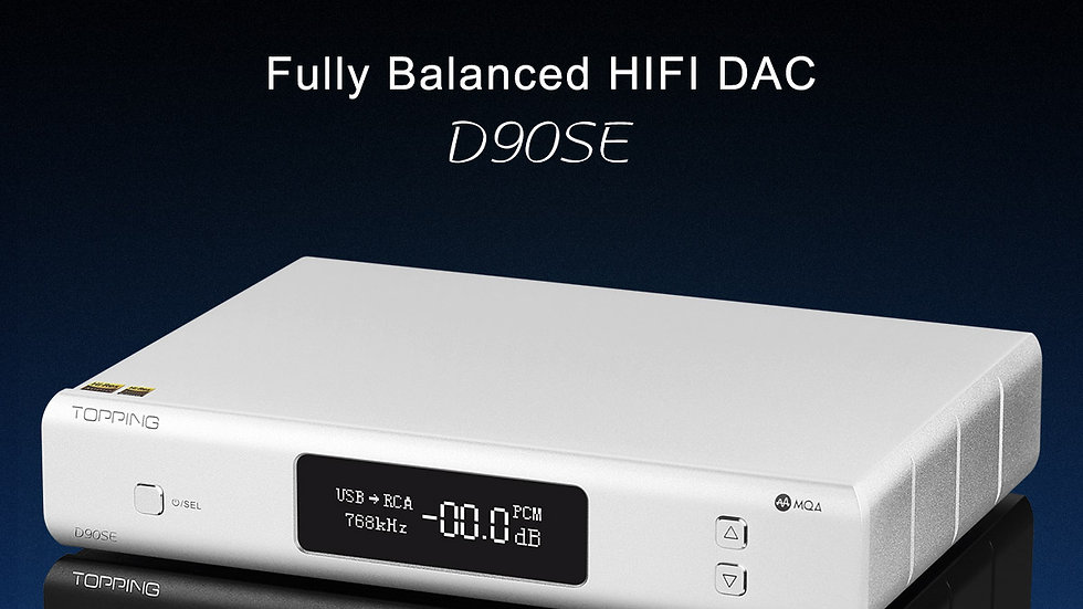 Topping D90SE (Second Edition) MQA