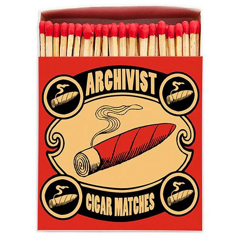 Cigar Luxury Letterpress printed matches
