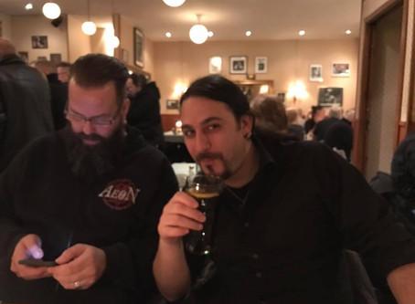 Last night with Mark