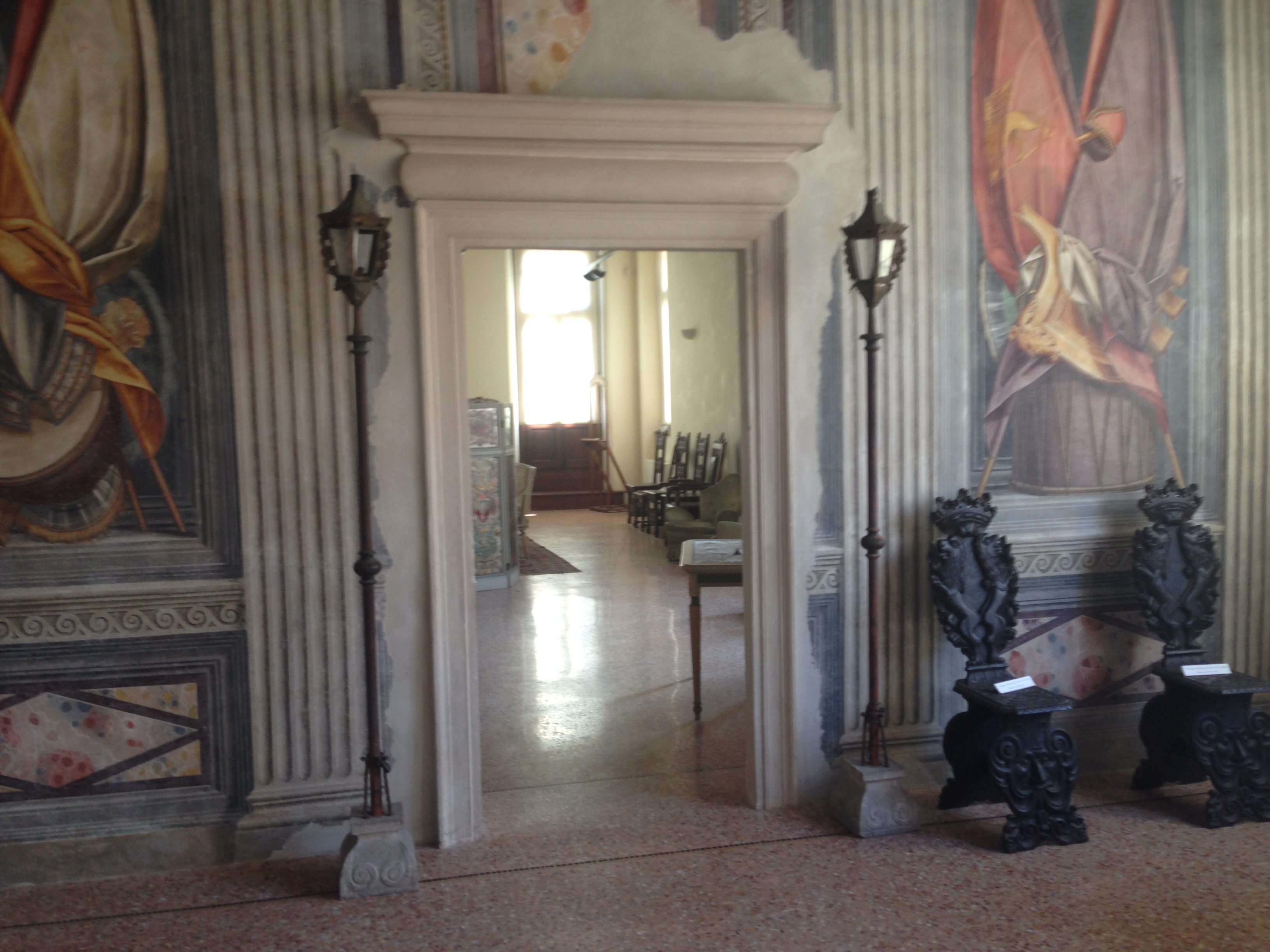 Sala affreschi