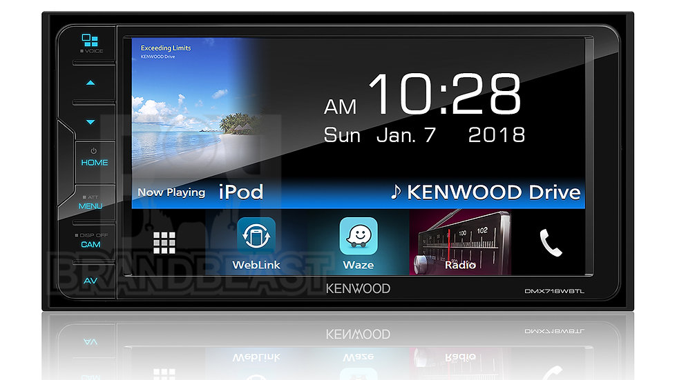 KENWOOD DMX718WBT