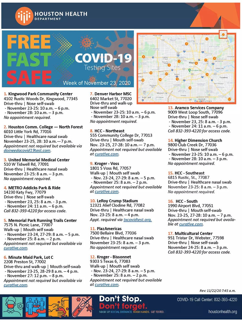 Fast Free SAfe Covid-19 Test Locations.j