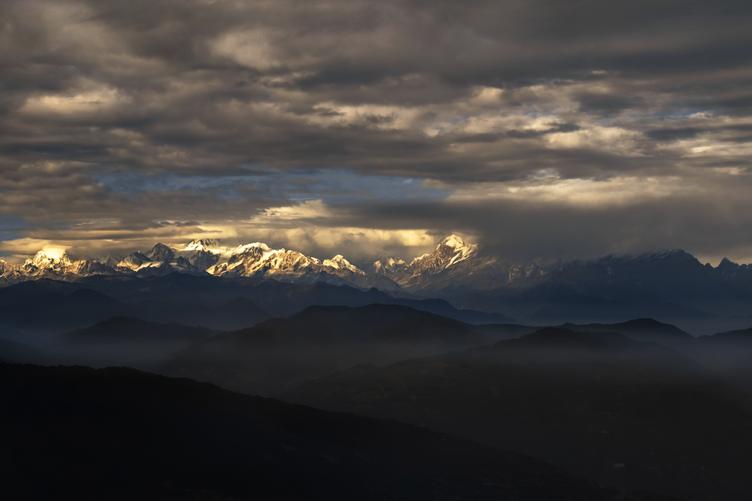 Kanchenjunga, from Tonglu