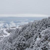 First snow, Sandakphu