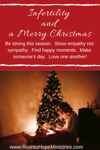 infertility and Christmas