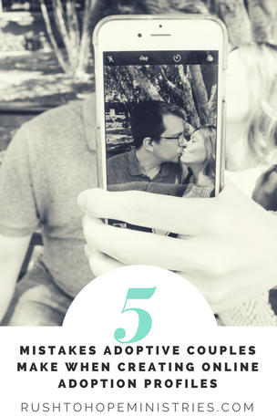 5 Mistakes Adoptive Couples Make When Creating an Online Adoptive Profile