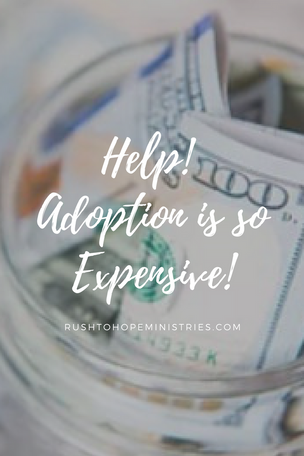 HELP! Adoption is so expensive!