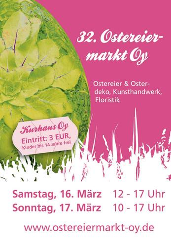 Plakat Osteriermarkt
