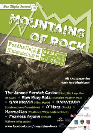 Plakat Mountains of Rock 2018