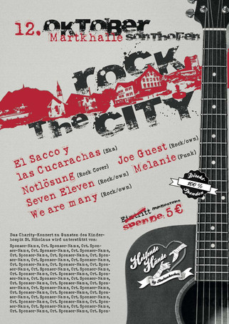 Plakat Rock the City