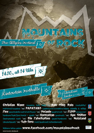 Plakat Mountains of Rock 2017