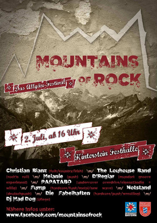 Plakat Mountains of Rock 2016