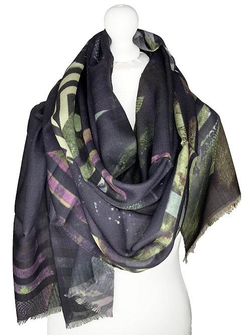 70% Wool 30% Silk Scarf 5
