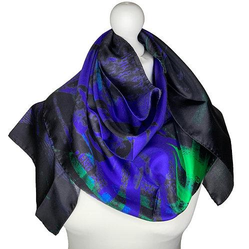 100% Silk Long Thin Scarf
