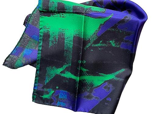 45X45cm 100% Silk Pocket Square 2