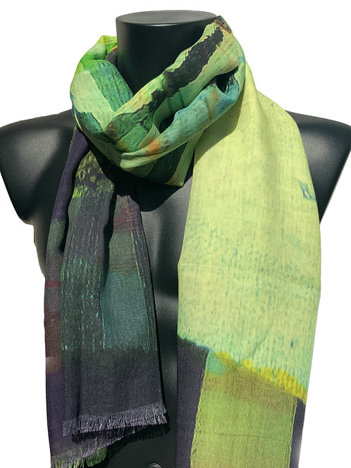 70% Wool 30% Silk Scarf