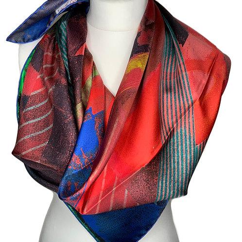 Silk Twill 90X90cm 4