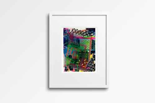 Fine Art Archival Giclee Print Edition of 50. No.7