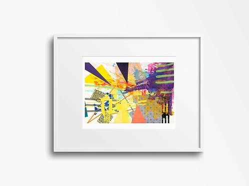 Fine Art Archival Giclee Print Edition of 50. No.10