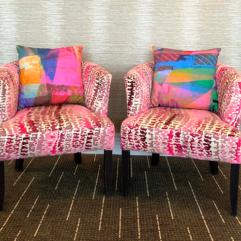 100% Organic Bamboo Light Pink Cushion Pair