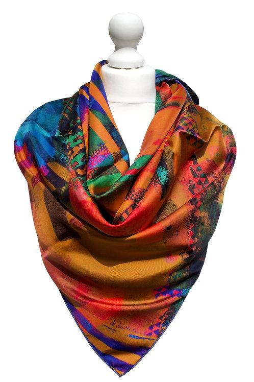 Silk Twill 90X90cm 5
