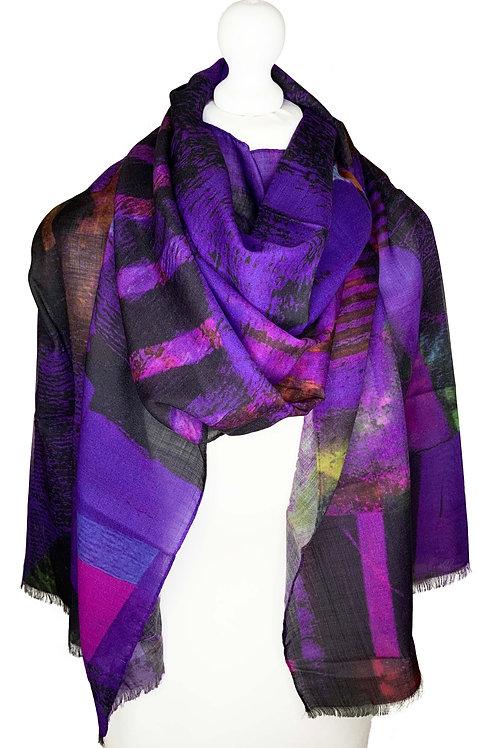 70% Wool 30% Silk Scarf 3