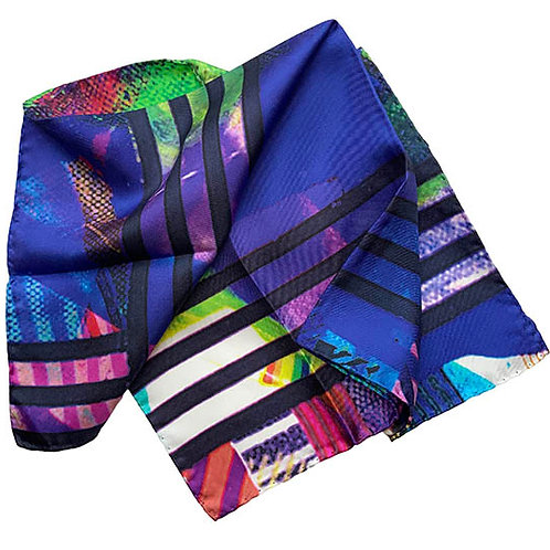 45X45cm 100% Silk Pocket Square 4