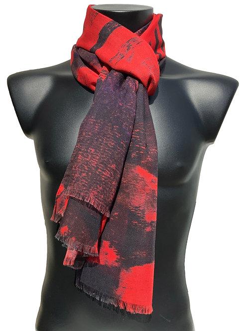 70% Wool 30% Silk Scarf