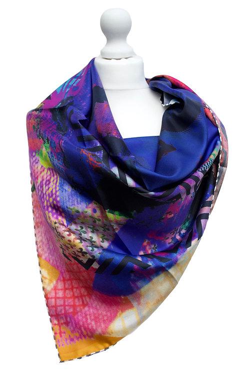 Silk Twill 90X90cm
