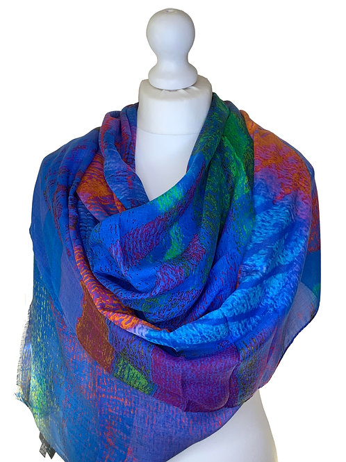 Modal/Silk Luxurious Soft Scarf 70x200cm 6