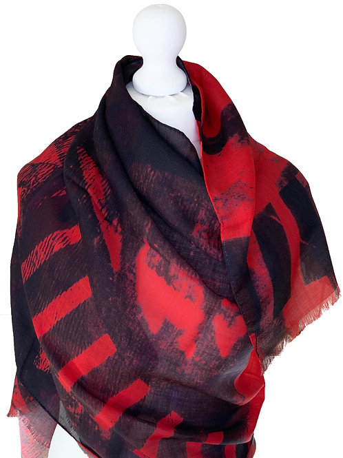 70% Wool 30% Silk Scarf 4