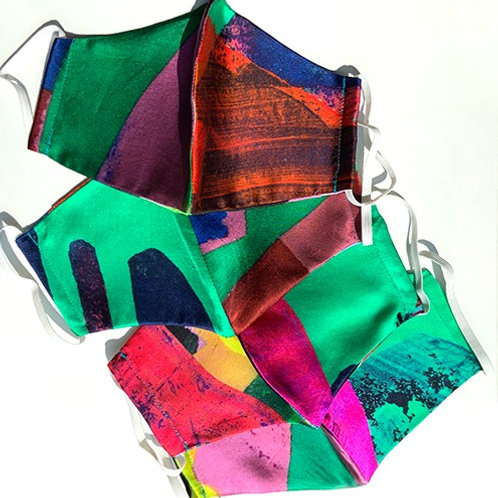 2 Layer 100% Silk & Organic Cotton Masks