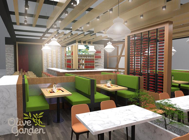 Restaurante / Olive Garden / Prototipo