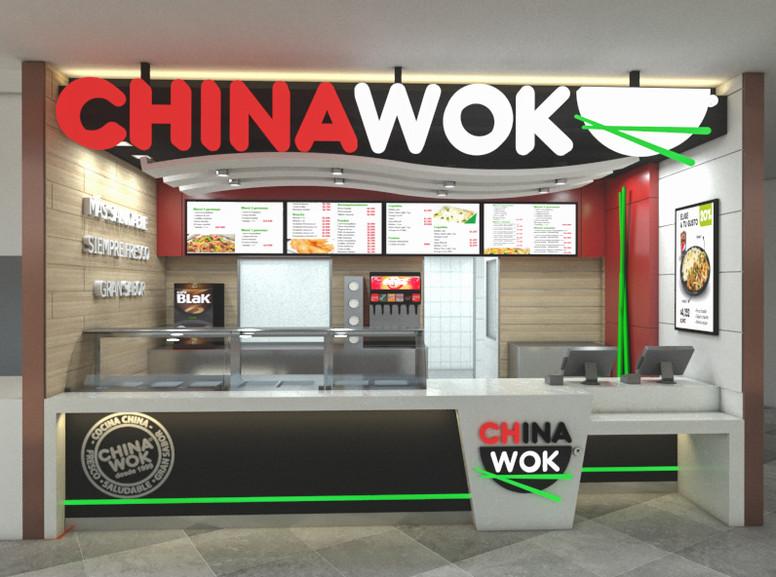 Restaurante / Chinawok / Santiago