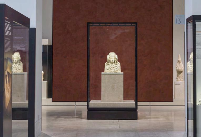 Museografía en torno a la Dama de Elche