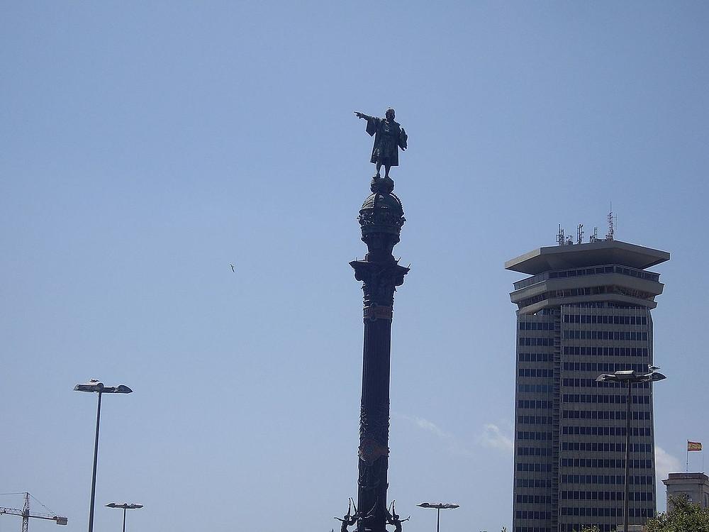 Estatua de Colón en Barcelona, Monumento, Patrimonio monumental.