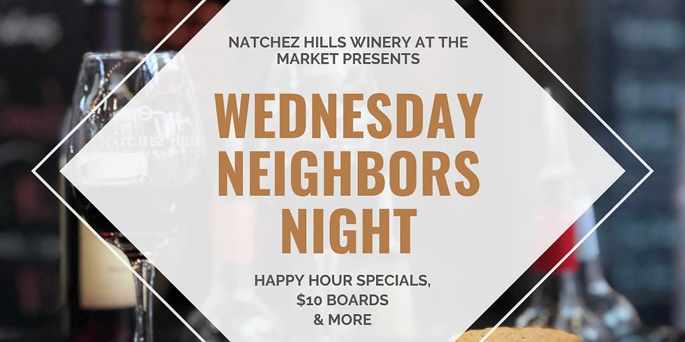 Wednesday Neighbor's Night